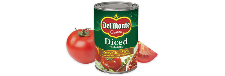 Delmonte Diced Tomatoes - Zesty Chili Style