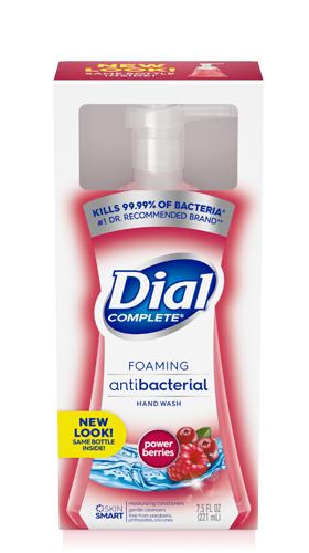 Dial Power Berries Antibacterial Foaming Hand Wash