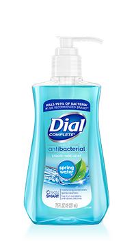 Dial Spring Water Antibacterial Liquid Hand Soap