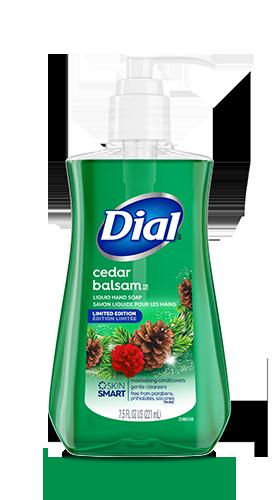 Dial Cedar Balsam Liquid Hand Soap