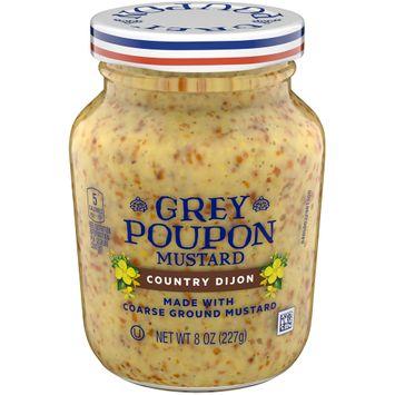 Grey Poupon Country Dijon Mustard, 8 oz Jar