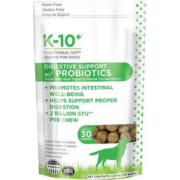 K-10+ Digestive Support with Probiotics Supplement
