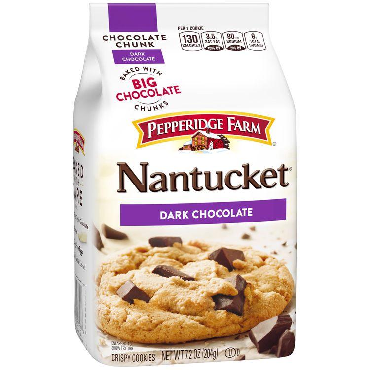 Pepperidge Farm® Nantucket® Crispy Dark Chocolate Chunk Cookies
