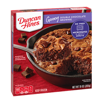 Duncan Hines Double Chocolate Brownie