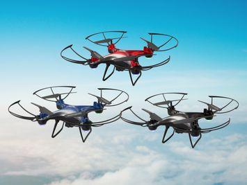 Thunderbird Quadcopter Drone with Wi-Fi Camera - DRW389