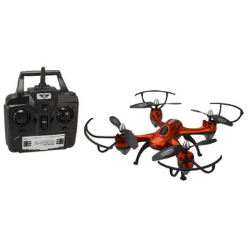 Harrier Pro: Quadcopter Drone with Wi-Fi Camera (DRW457O)