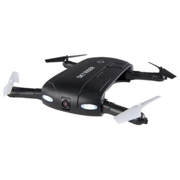 Sparrow Pro: Foldable Smart Drone with WiFi Camera (DRW477B)