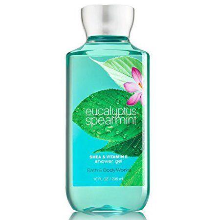 Bath & Body Works Shea & Vitamin E Shower Gel Eucalyptus Spearmint 10 oz