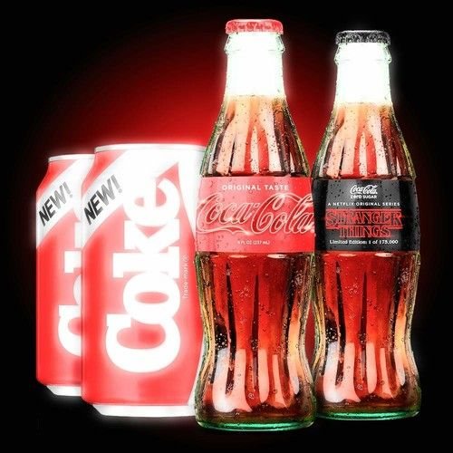 Coca Cola Stranger Things Limited Edition 1985 Collector's Pack NEW LIMITED