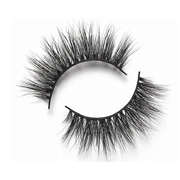 3D Mink False Eyelash 100% Handmade Strip Lashes, Pinkzio Reusable Extra Thick, Dramatic Volume Double Layer Fake Lashes 3D Faux Mink Lashes