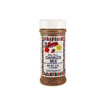 Bolner's Fiesta Extra Fancy Chorizo Spice Mix No Salt 4oz