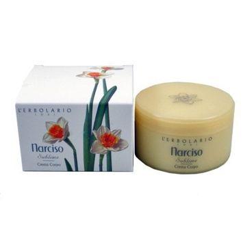 Narcissus (Narciso) Perfumed Body Cream by L'Erbolario Lodi
