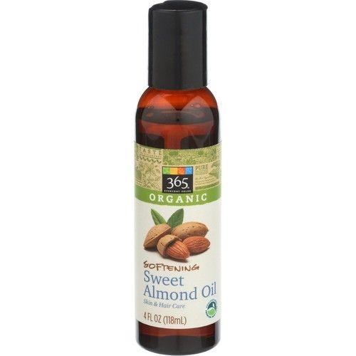 365 Everyday Value, Organic Sweet Almond Oil, 4 oz