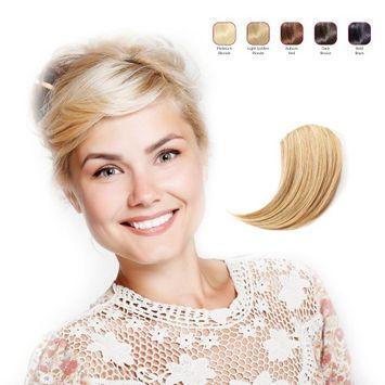 Hollywood Hair Sweeping Side Fringe - Light Golden Blonde