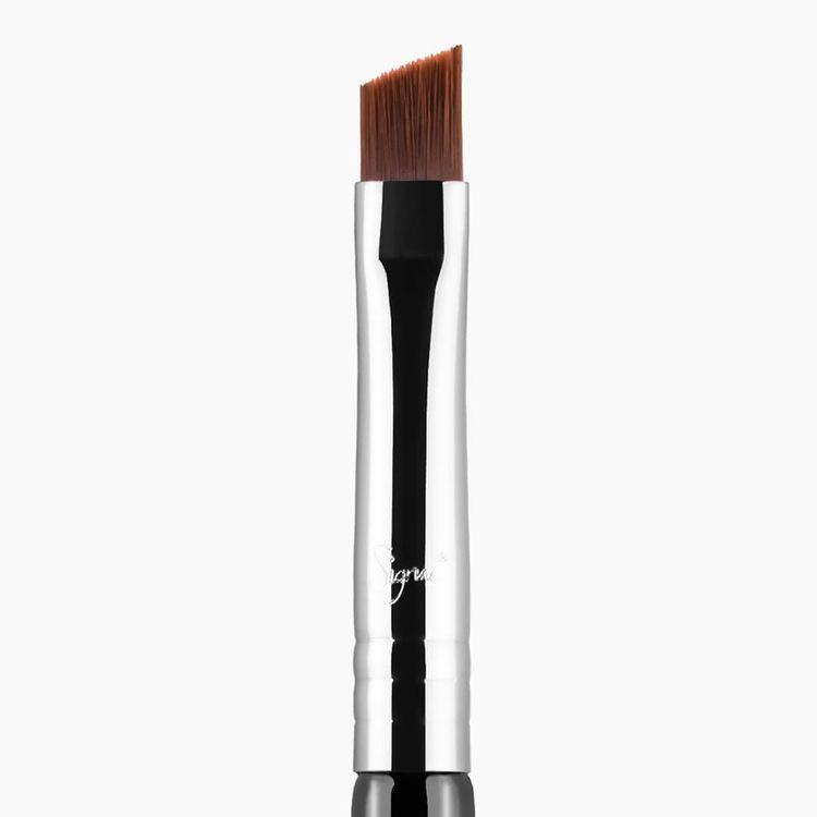 Sigma Beauty E65 Small Angle Brush - Black/Chrome