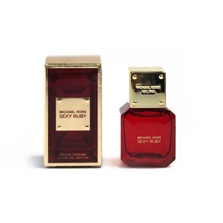 Michael Kors Sexy Ruby Eau De Parfum 0.14 oz / 4 ml Mini Splash For Women
