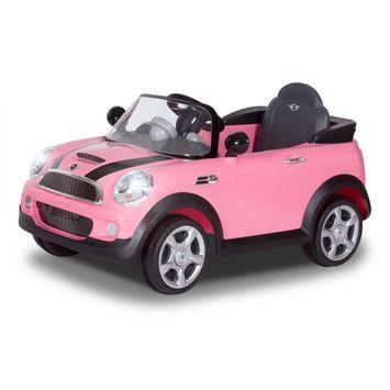 Evenflo Mini Cooper S 6V Pink