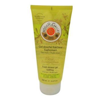Roger & Gallet Fleur D'Osmanthus Fresh Shower Gel, 6.6 oz.