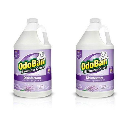 OdoBan Odor Eliminator and Disinfectant Concentrate, Lavender (2 Gal)