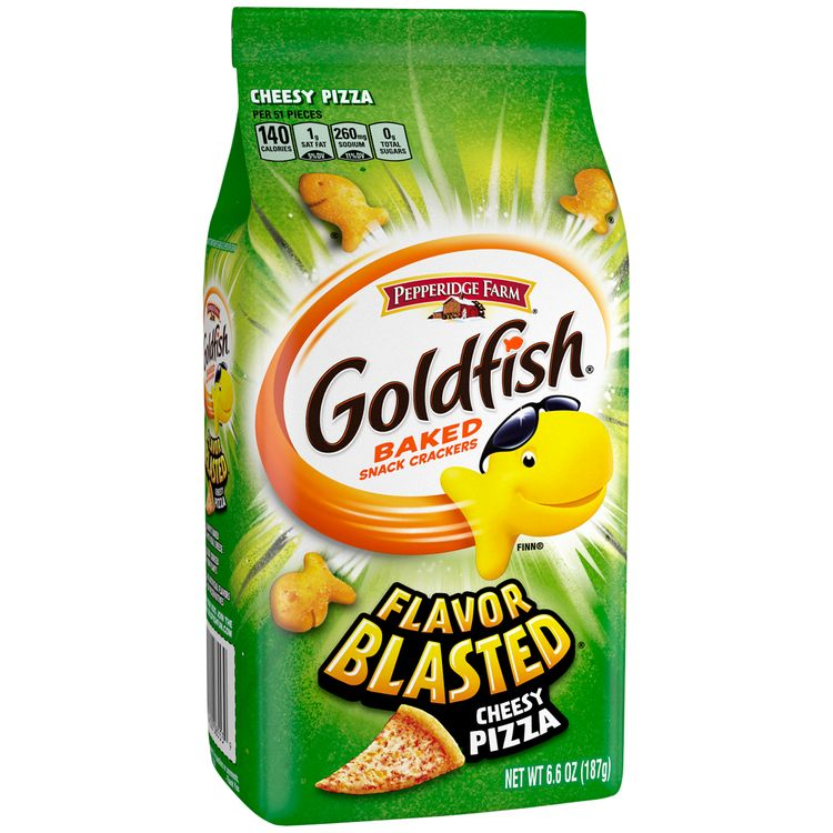 Pepperidge Farm® Goldfish® Flavor Blasted® Xplosive Pizza Crackers, 6.6 oz. Bag