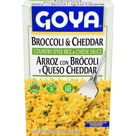 Goya Broccoli And Cheese Rice Mix 7 Oz