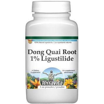 Dong Quai (Chinese Angelica) Root Extract - 1% Ligustilide - Powder (1 oz, ZIN: 513373)