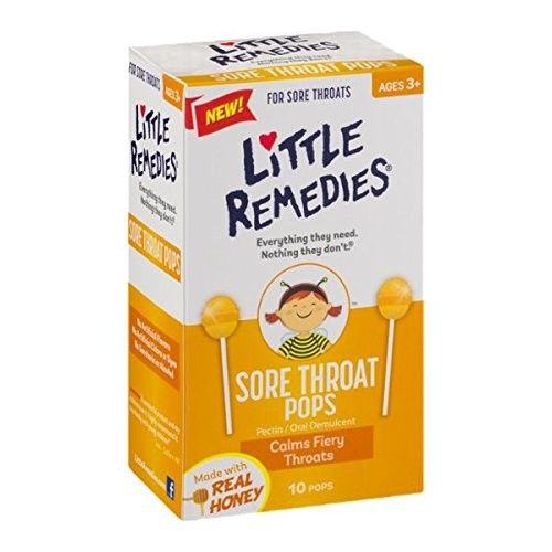 Little Remedies® Sore Throat Pops
