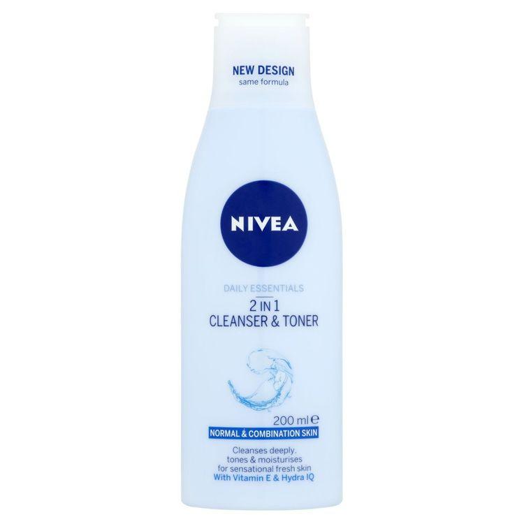 Nivea 2 In 1 Cleanser & Toner 200 Ml
