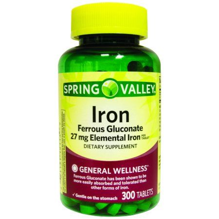 International Vitamin Corporation Spring Valley Iron 27mg 300 ct