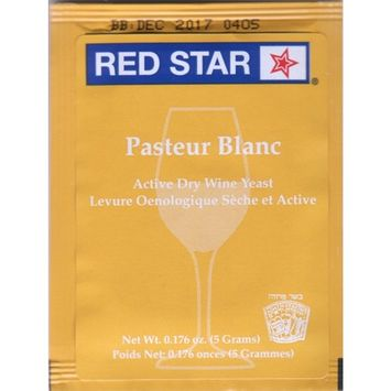 WINE YEAST 6 PACK RED STAR PASTEUR BLANC Fermentis Champagne Yeast