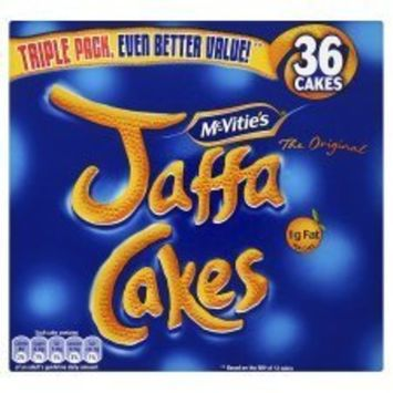 McVities Jaffa Cakes Triple Pack 30 366g
