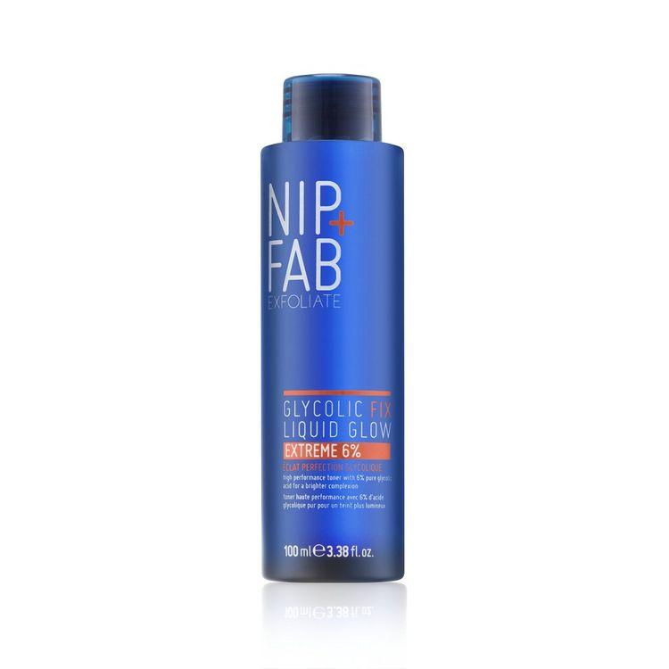 Nip+fab Glycolic Fix Liquid Glow Extreme 6% Acid Exfoliating Toner