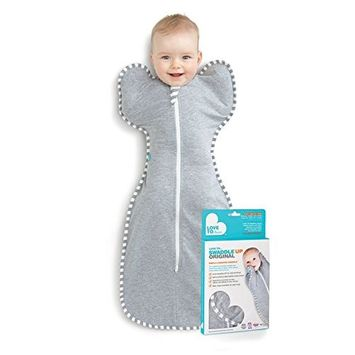 Love To Dream Swaddle Up Original- Gray- Large 18.7-24.3 lbs