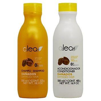 Alea Damaged Hair with Argan Oil Shampoo + Conditioner
