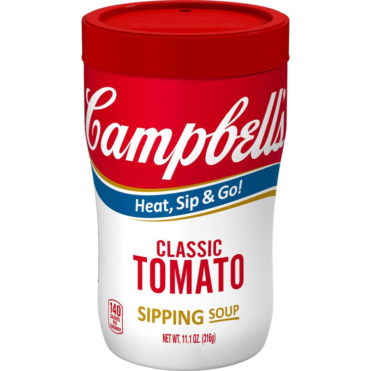 Campbell's® Classic Tomato Sipping Soup, 11.1 oz. Cup