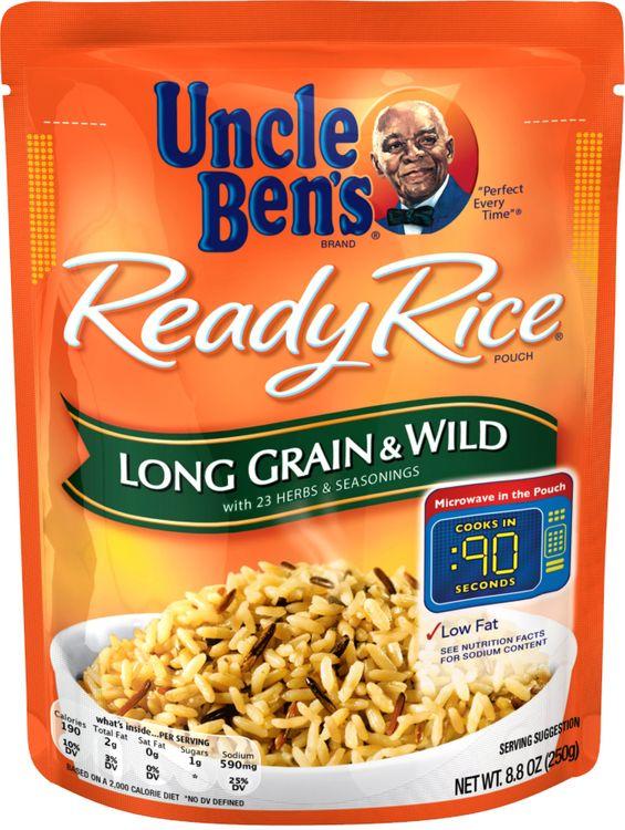 Uncle Ben's® Ready Rice, Long Grain & Wild, 8.8 Oz. Pouch