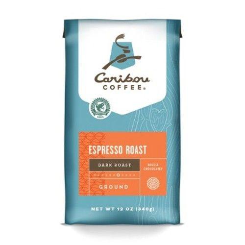 Caribou Coffee Espresso Roast Ground Coffee - 12oz