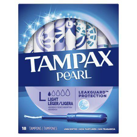 Tampax Pearl  Light