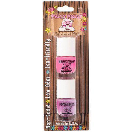 Piggy Paint Nail Polish Set, Jazz it Up & Fairy Fabulous, 0.125 fl oz, 2 count