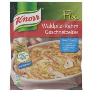 Knorr Knorr Fix Waldpilz-Rahm Geschnetzeltes
