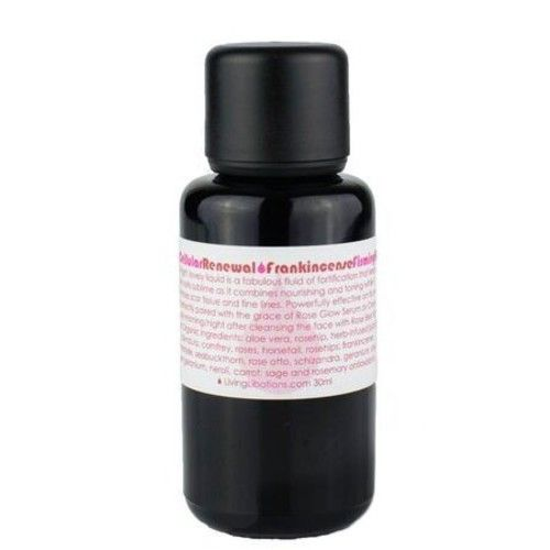 Living Libations - Organic/Wildcrafted Rose Cellular Renewal & Frankincense Firming Fluid (1 oz/30 ml)