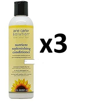 ARRIVAL [ PACK OF 3] JANE CARTER SOLUTION nutrient replenishing conditioner 8oz ea