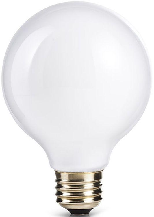 40 W (60 W) Medium base (E26) Pleasant light Globe