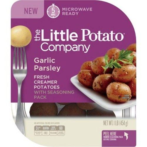 The Little Potato Garlic & Parsley Microwavable Vegan Potatoes - 1lb