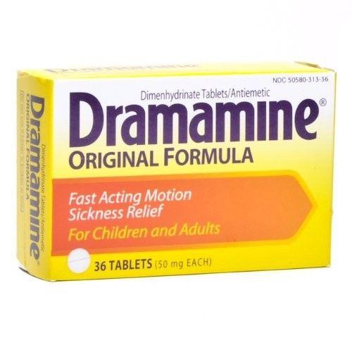 Drammamine Motion Sickness Tablets 36/box