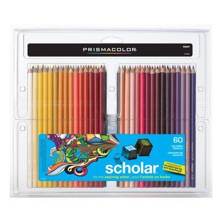 Prismacolor Scholar Colored Pencil Set, 60-Colors