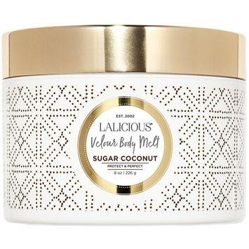 LALICIOUS - Sugar Coconut Velour Body Melt - 8 Ounces [Sugar Coconut]