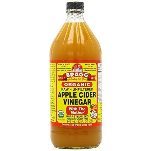 Bragg Apple Cider Vinegar USDA Organic - Plastic Bottle (32 Ounce)