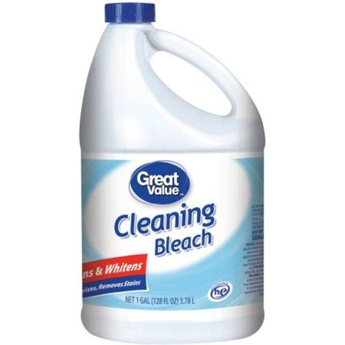 Great Value Cleaning Bleach, 128 fl oz