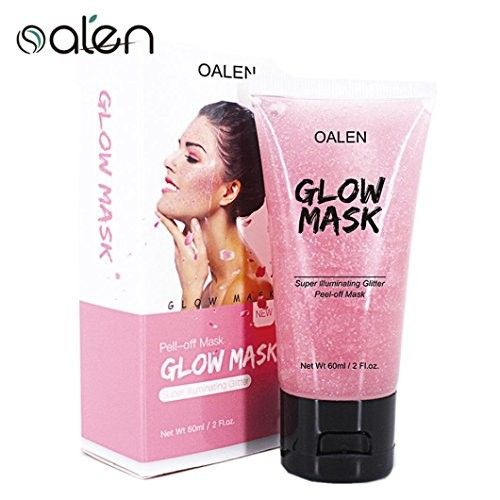 Face Mask, Peel Off Star Facial Mask Tightening Moisturizing Anti-wrinkle Whitening (Pink)